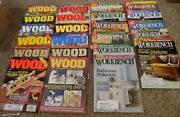 Vintage Lot Of 23 Workbench And Wood Magazines 2000 - 2003- Excellent Condition