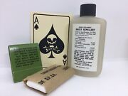 M1 Helmet Vietnam Accessory Lot Of Insect Repellent Death Card Tp And Matches Gs