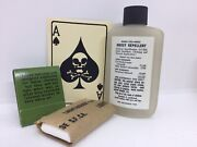 M1 Helmet Vietnam Accessory Lot Of Insect Repellent Death Card Tp And Matches