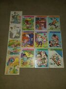 Vintage Whitman And Playskool Frame Tray Puzzles Disney Lot Of 13 Vgc