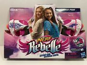New Nerf Rebelle Power Pair Set - 2 Blasters And 4 Collectible Darts 2013 A4807
