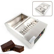 2 Pots Electric Chocolate Melter Candy Diy Water Heating Melting Machine 110v