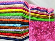 Faded Floral Fabric By The Bundle 102 Yards Total 17 Six Yard Cuts