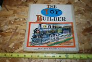 The Toy Builder – Antique Toy Book Child Improvement Games – Lot101-46