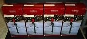 Holiday Living 100 Adjustable 12 Christmas Lawn Light Stakes 4 Boxes