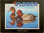 Florida 1988 Migratory Waterfowl Stamp Poster By Ronald Louque