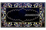 India Cottage Crafts Inlay Art Dining Table Top For Royal Home 24and039and039 X 48and039and039