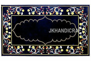India Cottage Crafts Inlay Art Dining Table Top For Royal Home 30and039and039 X 48and039and039