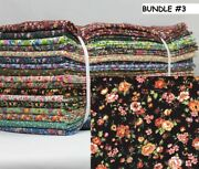 Country Floral Fabric By The Bundle 102 Yards 17 Six Yard Cuts Variety Available