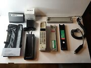 Motorola Brick Cell Phone Hand Held Mobile Model F09lfd815cg And Accesories