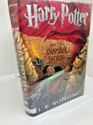 Signed J.k. Rowling Harry Potter And The Chamber Of Secrets Original Edition Rep