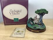 Wdcc Sleeping Beauty - Woodcutter's Cottage Enchanted Places W/ Box And Coa