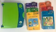 Leapfrog Leappad Learning System W/ 6 Books/games Level 1 Through 6-7 Years