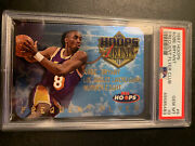 1997 Hoops Kobe Bryant Frequent Flyer Club Gem Mint Psa 10 Lakers