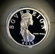 2017 Ultra Rare Sovereign Free Will Silver Andldquomind Your Businessandrdquo Only 120 Minted