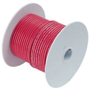 Ancor Red 10 Awg Tinned Copper Wire - 25and039