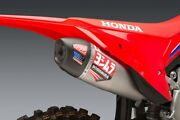 New Yoshimura Rs-12 Stainless Full Exhaust W/ S.s Muffler Crf450r Crf450rx 2021