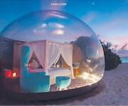 Outdoor Inflatable Bubble Tent Single Tunnel Family Camping Large Diy 2-4 People