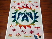 Pendleton Sunrise Eagle Muchacho Baby Blanket 32x44 Made In Usa
