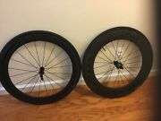Boyd Carbon Clincher 10 Sp Wheelset 50mm Front 80mm Rear I Think