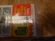 1982 Topps Football Sealed Rackpack. Lawrence Taylor Rookie Showing On Back