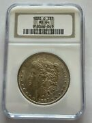 1888 O 1 Morgan Dollar Ngc Ms 64