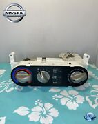 00-06 Nissan Sentra Climate Control Unit With Heater And A/c Temperature Hvac Oem
