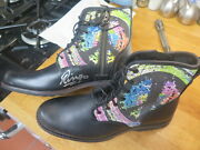 Ringo Starr The Beatles Signed Chairty Water Aid Boots Autopgraphed