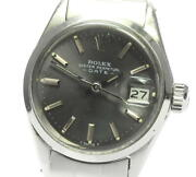 Rolex Oyster Perpetual Date 6516 Cal.1161 Automatic Ladies Watch_593651