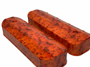 Chevy 1965-2000 396-454 Valve Cover W/o Breather 128-23qft Chevy Orange Flames