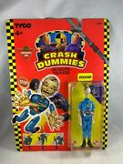 Tyco Canadian Tire Crash Dummies Pitstop Figure Sealed On Card