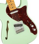 Fender American Original 60s Telecaster Thinline Maple / Surf Green
