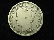 2021 Sale Key-date F-vf 1912-s Liberty V Nickels @u.s. Collectible Coin 78p