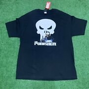 Vintage 2002 Marvel Punisher T Shirt Frank Castle Brand New With Tags Size Xl