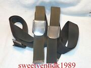 2 Pair Of Ford Oem Seat Belt Components....buckles Casted Bn 7061208-a
