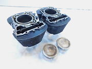 1995-1997 Honda Vt1100 Vt1100c Shadow 1100 Ace Engine Motor Pistons And Cylinders