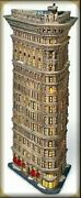 Flatiron Building Porcelain Statue Table Lamp Christmas Ornament Dept 56 Nrfb