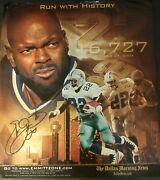 Emmitt Smith 3 Time Super Bowl Campion With The Dallas Cowboys 11x12.5 Poster.