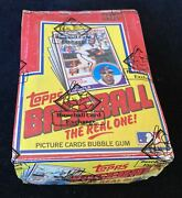 1983 Topps Baseball Unopened Wax Box Bbce Fasc From A Sealed Case Free Shipping