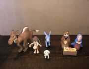 The Little Drummer Boy Animated Classic Tv Special Figurine Figure With Nativity