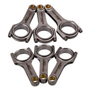H-beam Connecting Rods+arp2000 Bolts For Bmw M30 B35 Big 6 Engine M30 L6 135mm