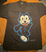 Vintage Changes 1994 Felix The Cat Cartoon Tv Show Double Sided Faded T Shirt