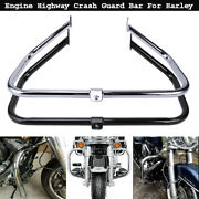 Engine Guard Highway Crash Bar For Harley Flhx Flhr Flht Road Street Glide 97-08