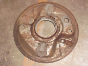 Right Side Front Brake Backng Plate From 1951 Plymouth.fits 1946 To 1951