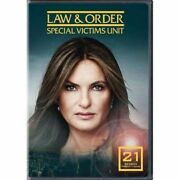 Law And Order Special Victims Unit Season 21 Dvd Svu 21 The Complete Series New