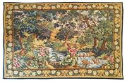 992 - Beautiful Vintage Aubusson Style Tapestry