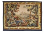 1025 19th Century French Aubusson Tapestry