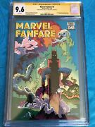Marvel Fanfare 6 - Marvel - Cgc Ss 9.6 - Signed By P Craig Russell, Mike Barr