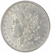 1886-o Morgan Silver Dollar - Slider - Very Nice Almost Uncirculated