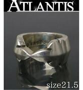 Chrome Hearts Ginza Storechrome Double Nanny Ring Silver Sv925 Approximately